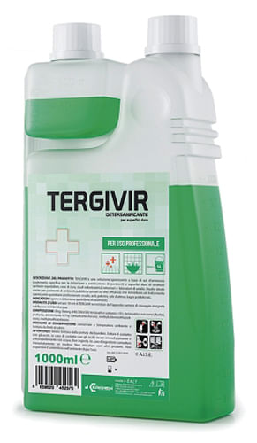 Tergivir detersanificante superfici dure 1 litro