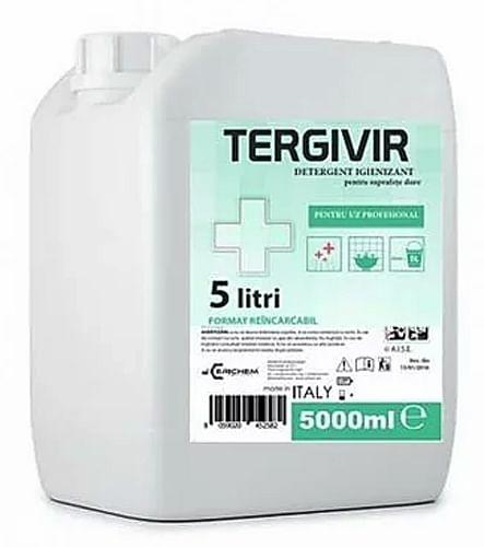 Tergivir detersanificante superfici dure 5 litri