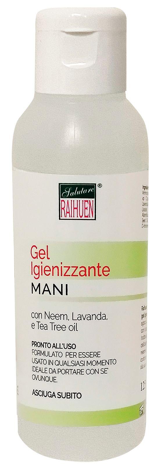 Raihuen gel igienizzante mani 100 ml
