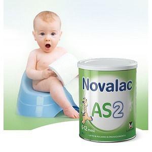 Novalac as 2 latte in polvere per bambini da 6 a 12 mesi 800 g