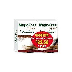 MIGLIOCRES CAPELLI U 60CPS+60CPS